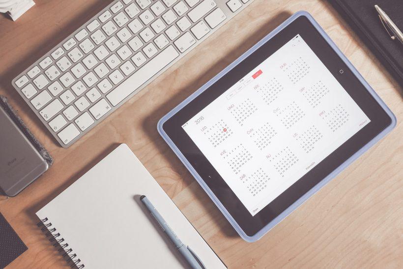 Pianificare il calendario di un blog